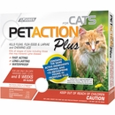 PetAction Plus Flea & Tick Treatment for Cats - 3 MONTH