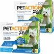 PetAction Plus Flea & Tick Treatment for Small Dogs 6-22 lbs - 6 MONTH