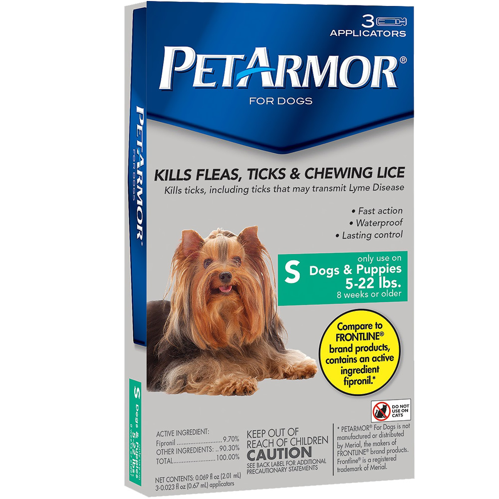 PetArmor Up to 22 lbs. (3 Month) im test