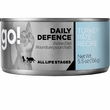 Petcurean Go! Daily Defence Cat Food - Turkey Pate (24x5.5oz)