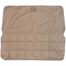 Petego Dog Car Seat Protector Rear - Tan (X-Large)