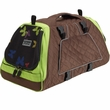Petego Jet Set Pet Carrier with Forma Frame - Green/Brown (Small)