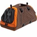 Petego Jet Set Pet Carrier with Forma Frame - Orange/Brown (Small)