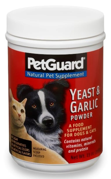 PetGuard Yeast & Garlic Supplement