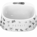 PETKIT FRESH Smart Digital Feeding Pet Bowl - Black/White Pattern