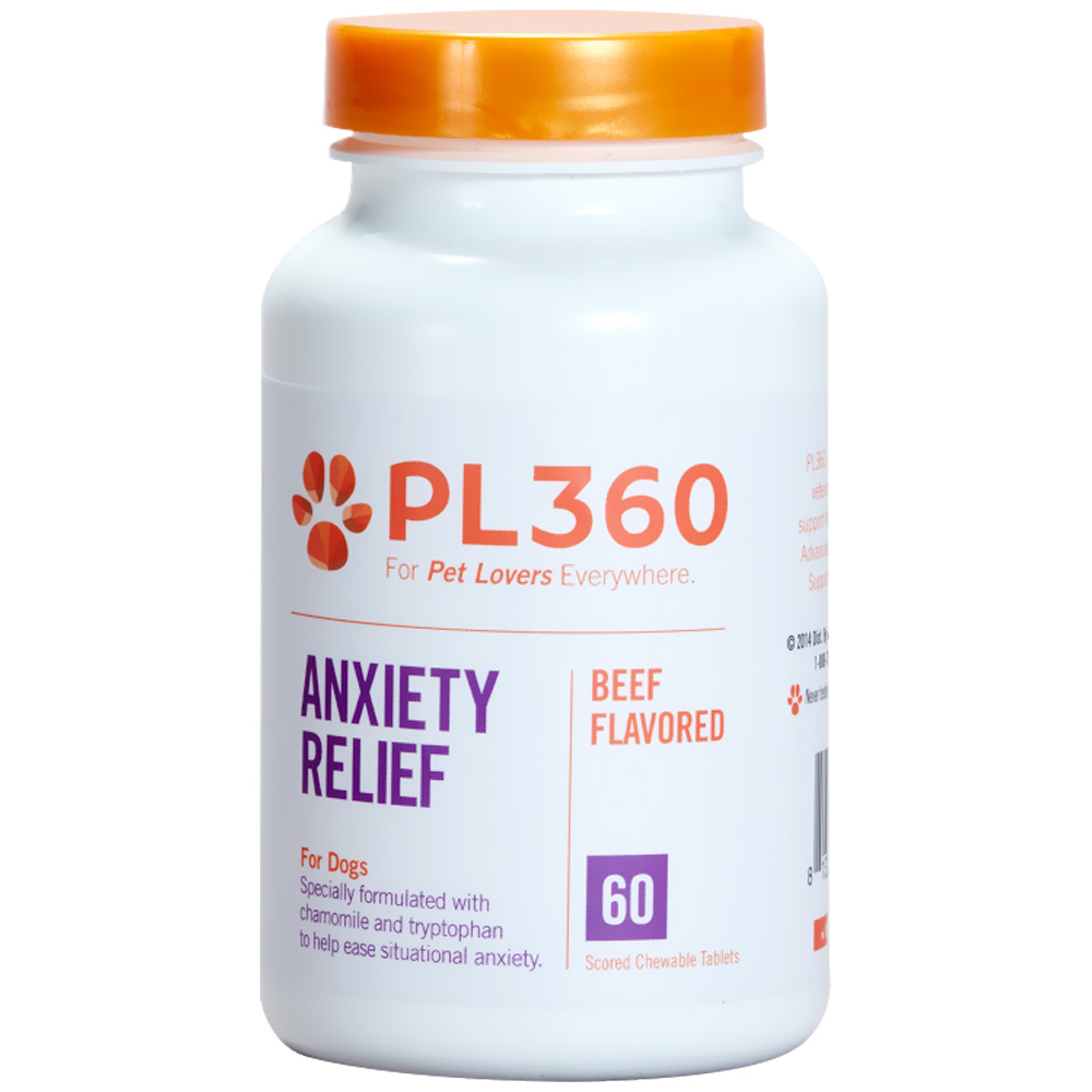 PL360 Anxiety Relief - 60 Tabs - For Dogs - from EntirelyPets