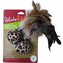 Petlinks Feather Flips - Feathered Ball Toys (2 pack)