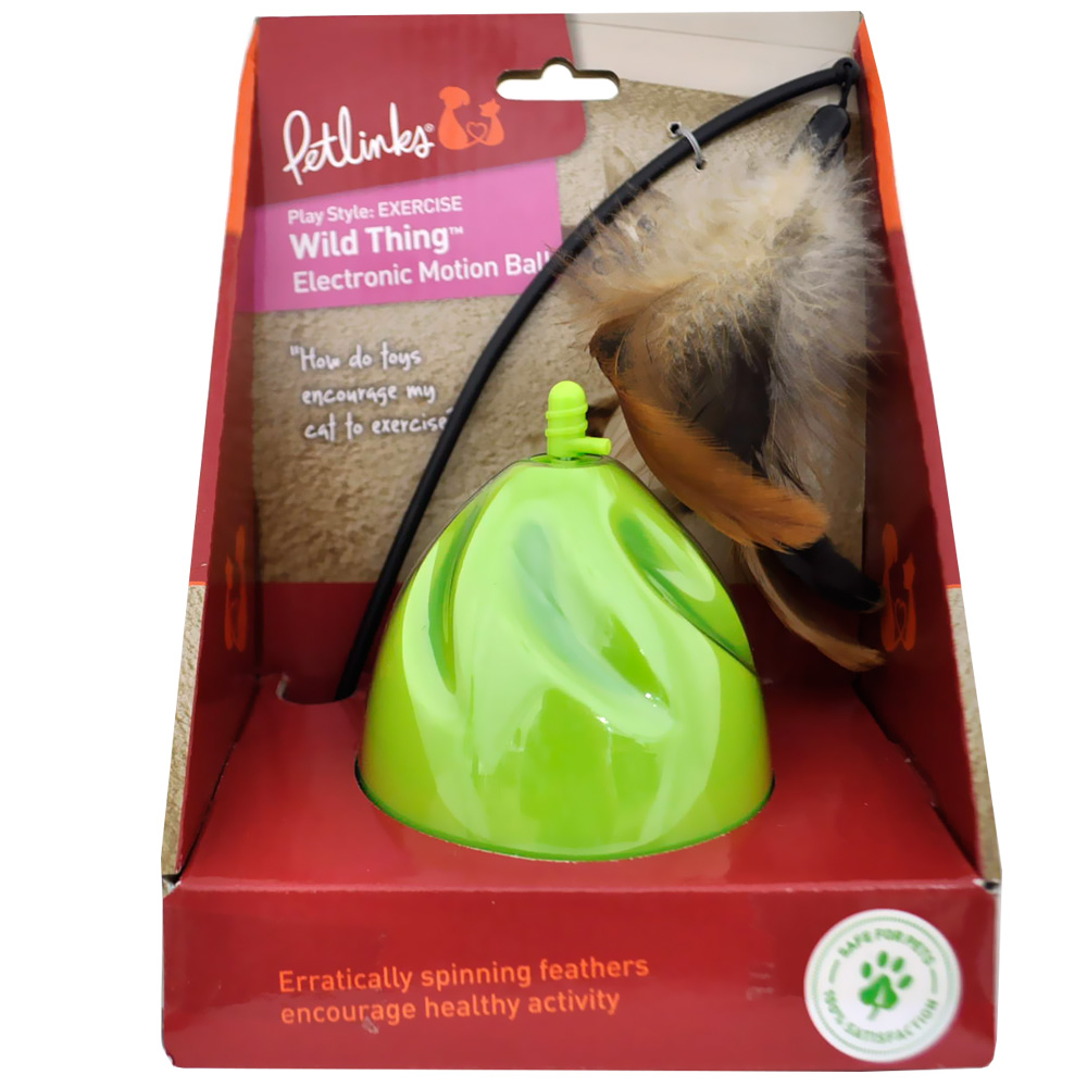 Petlinks Wild Thing Electronic Motion Ball im test