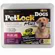 PetLock Plus Flea & Tick Treatment for Large Dogs (3 Doses)