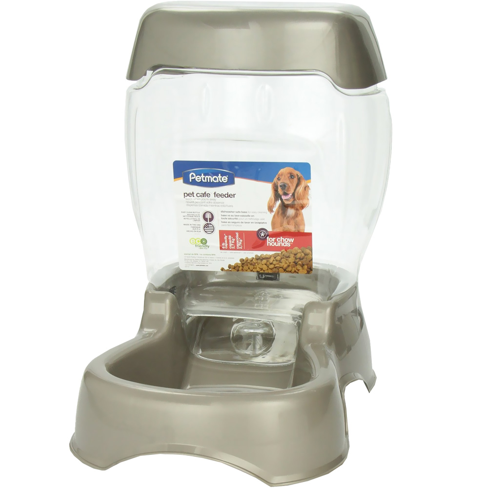 Petmate Cafe Feeder (6 lbs) - Pearl Tan im test