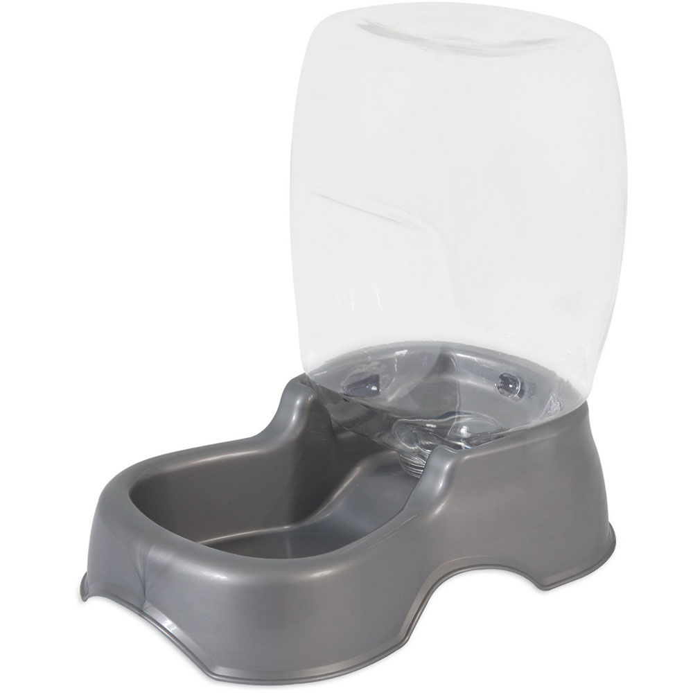 Petmate Cafe Waterer 0.25 Gallon - Pearl Silver Gray im test