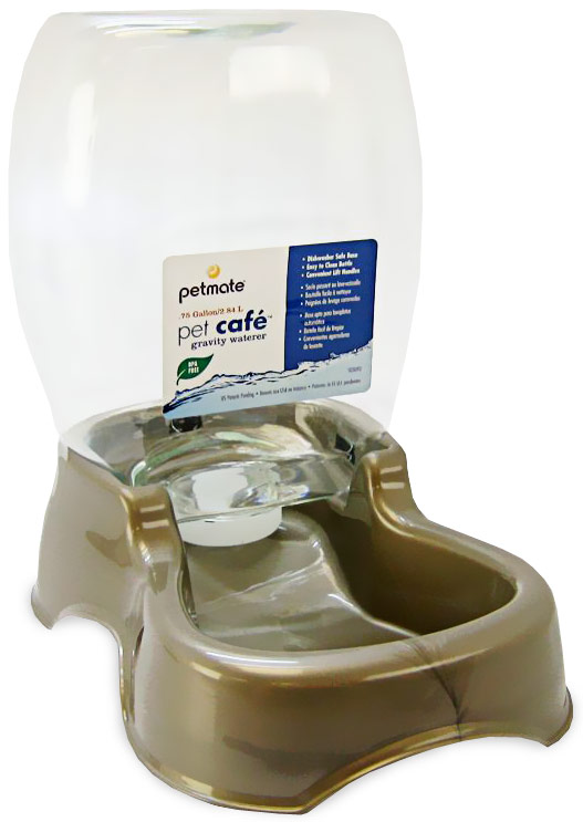 Petmate Cafe Waterer 0.75 Gallon - Pearl Tan im test