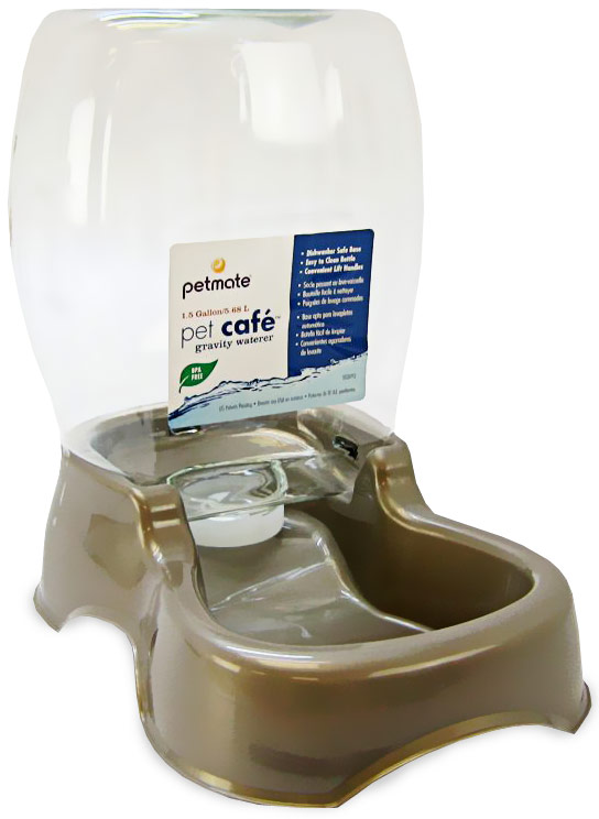 Petmate Cafe Waterer 1.5 Gallon - Pearl Tan im test
