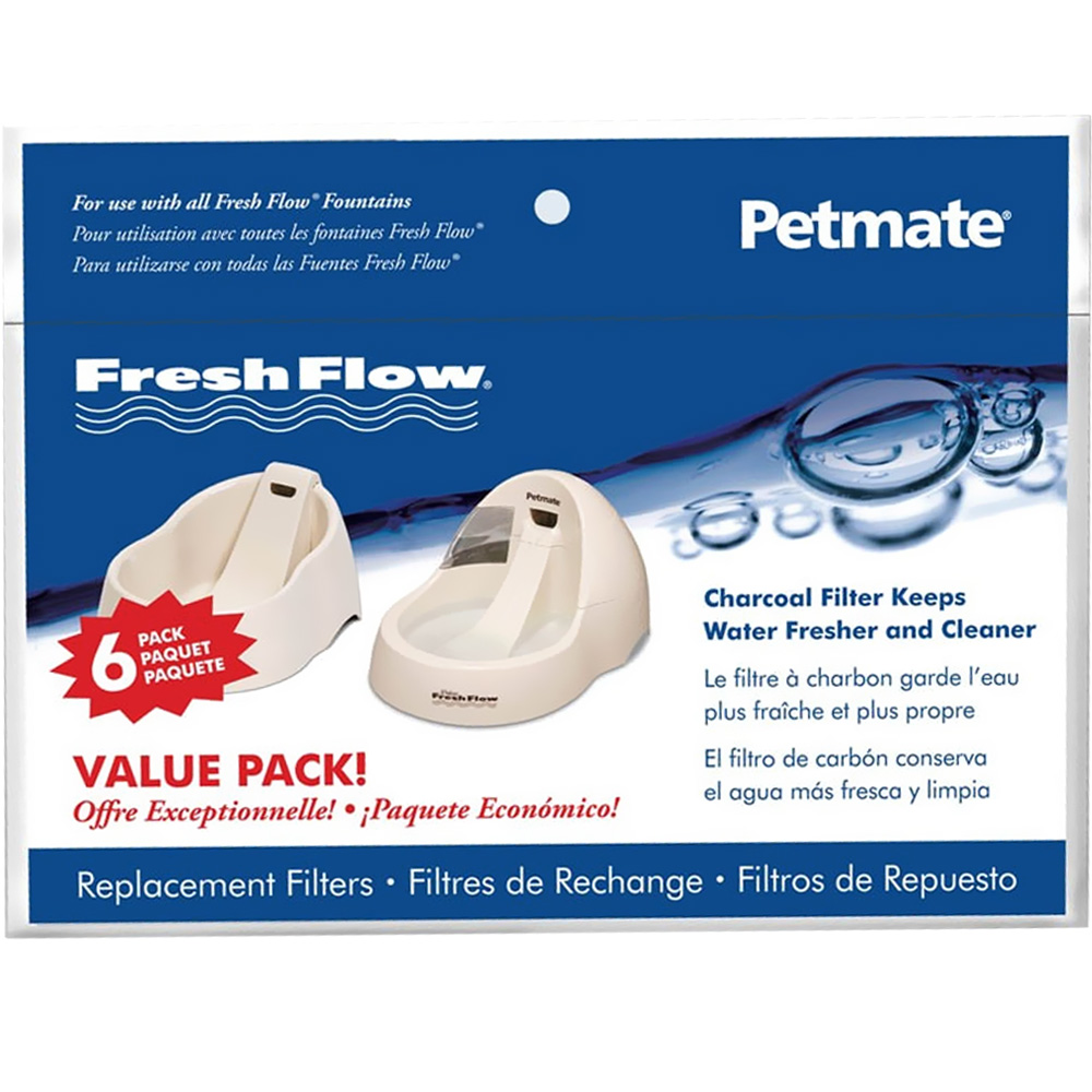 Petmate Fresh Flow Replacement Filter 6 Pack im test