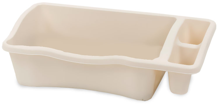 Petmate Litter Pan with Microban - Giant Bleached Linen im test