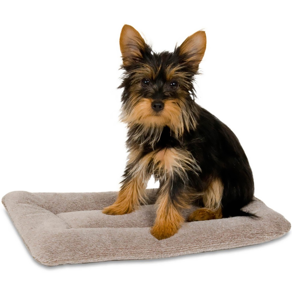 """Petmate Kennel Mat Tan - 16""""x9"""" (upto 10 lbs)"" im test"