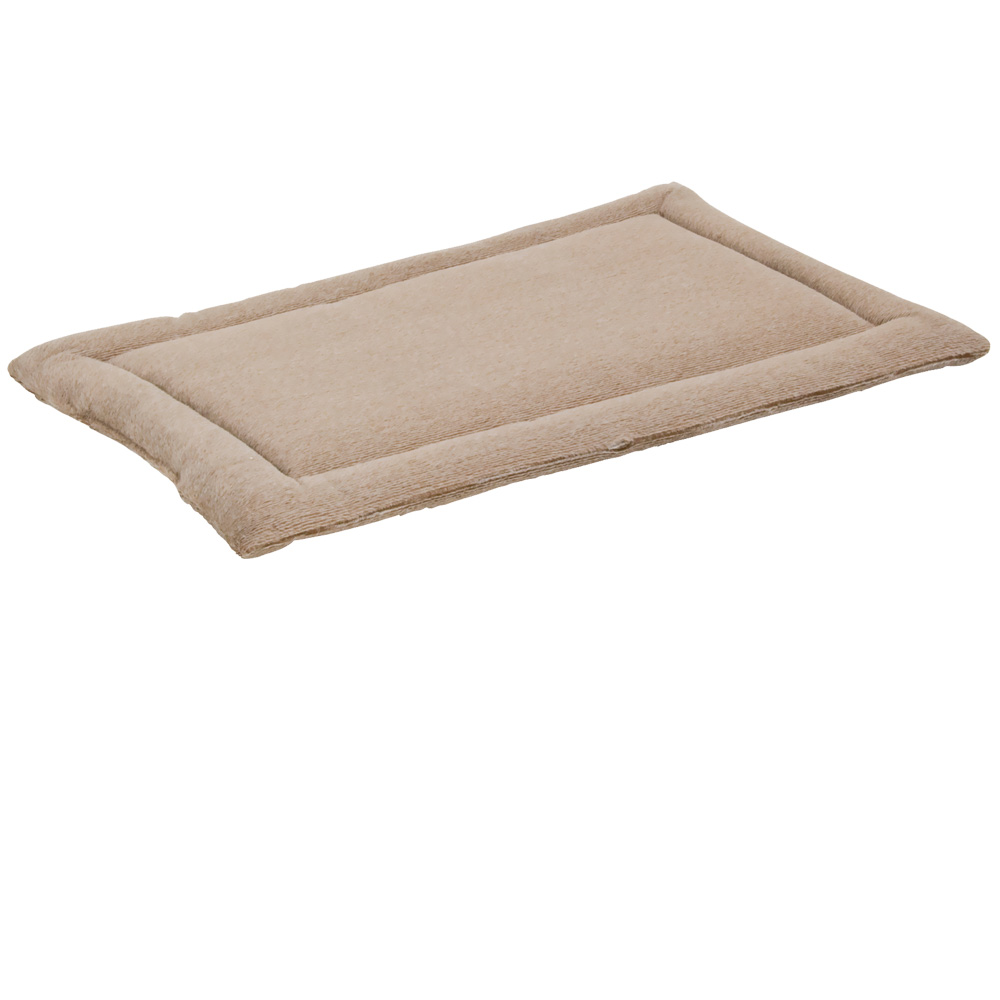 """Petmate Kennel Mat Tan - 23.5""""x16.5"""" (25-30 lbs)"" im test"