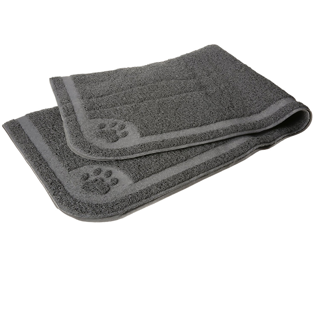 Petmate Litter Catcher Mat Extra Large - Grey from EntirelyPets