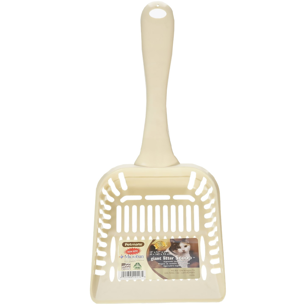 Petmate Litter Scoop with Microban Giant - Bleached Linen im test
