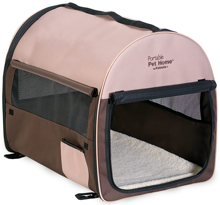 Petmate Portable Pet Home Small - Dark Taupe/Coffee Grounds Brown im test