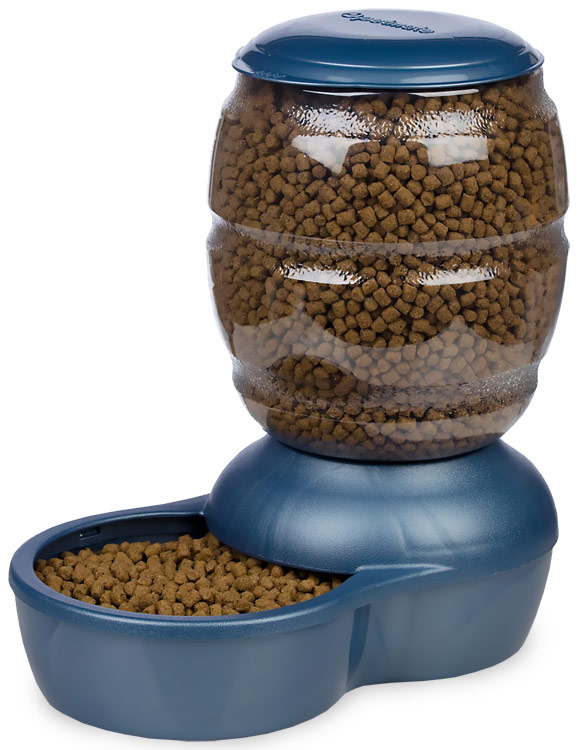 Petmate Replendish Feeder with Microban (10 lb) - Pearl Peacock Blue im test