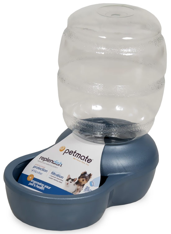 Petmate Replendish Waterer with Microban 0.5 Gallon - Pearl Peacock Blue im test