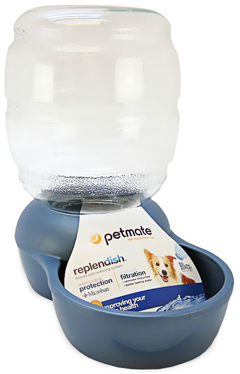 Petmate Replendish Waterer with Microban 2.5 Gallon - Pearl Peacock Blue im test