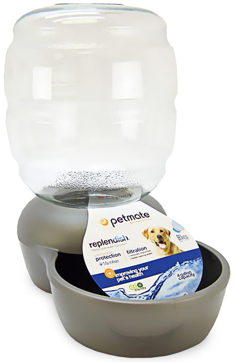 Petmate Replendish Waterer with Microban 4 Gallon - Brushed Nickel im test