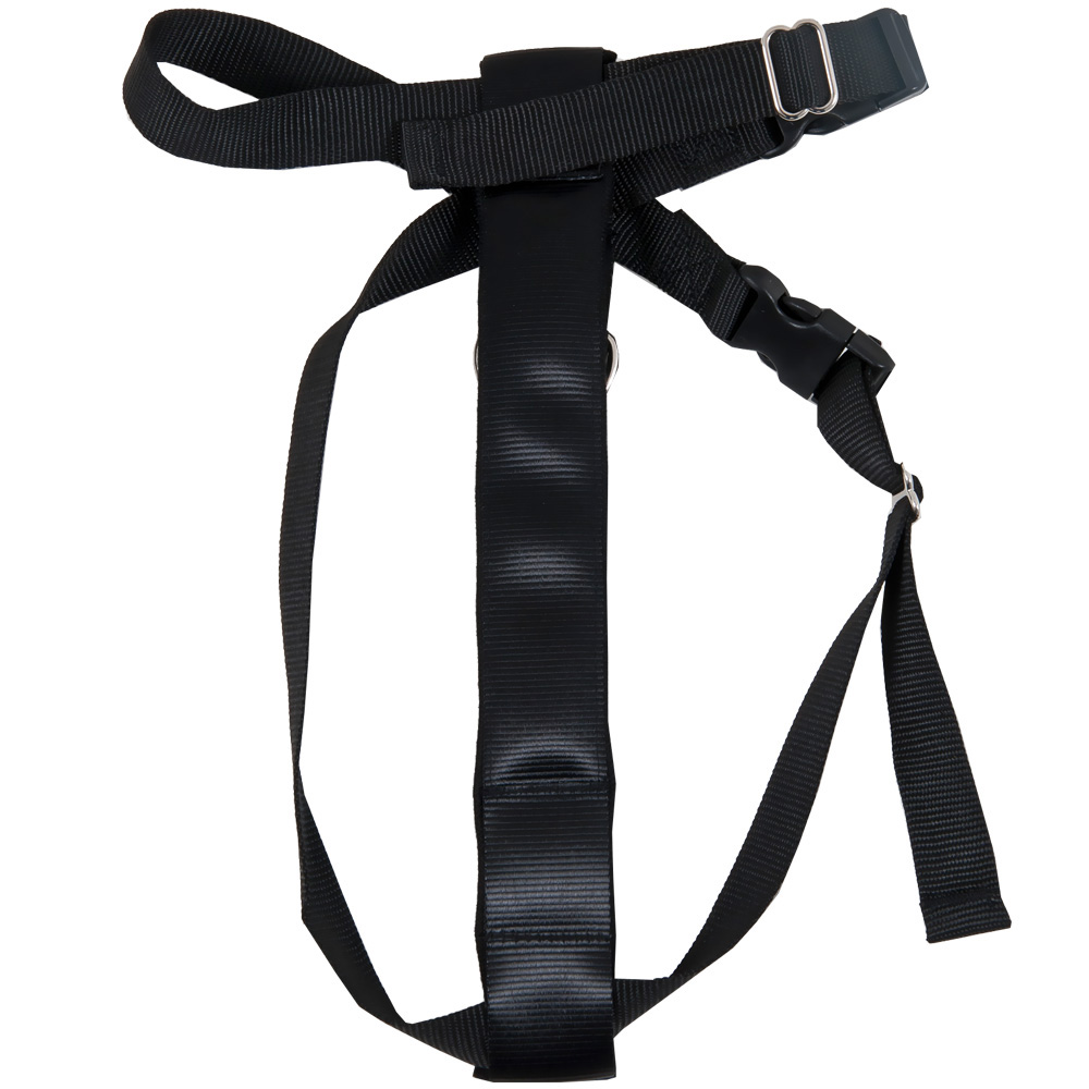 PETMATE-SEAT-BELT-TRAVEL-HARNESS-BLACK-LARGE