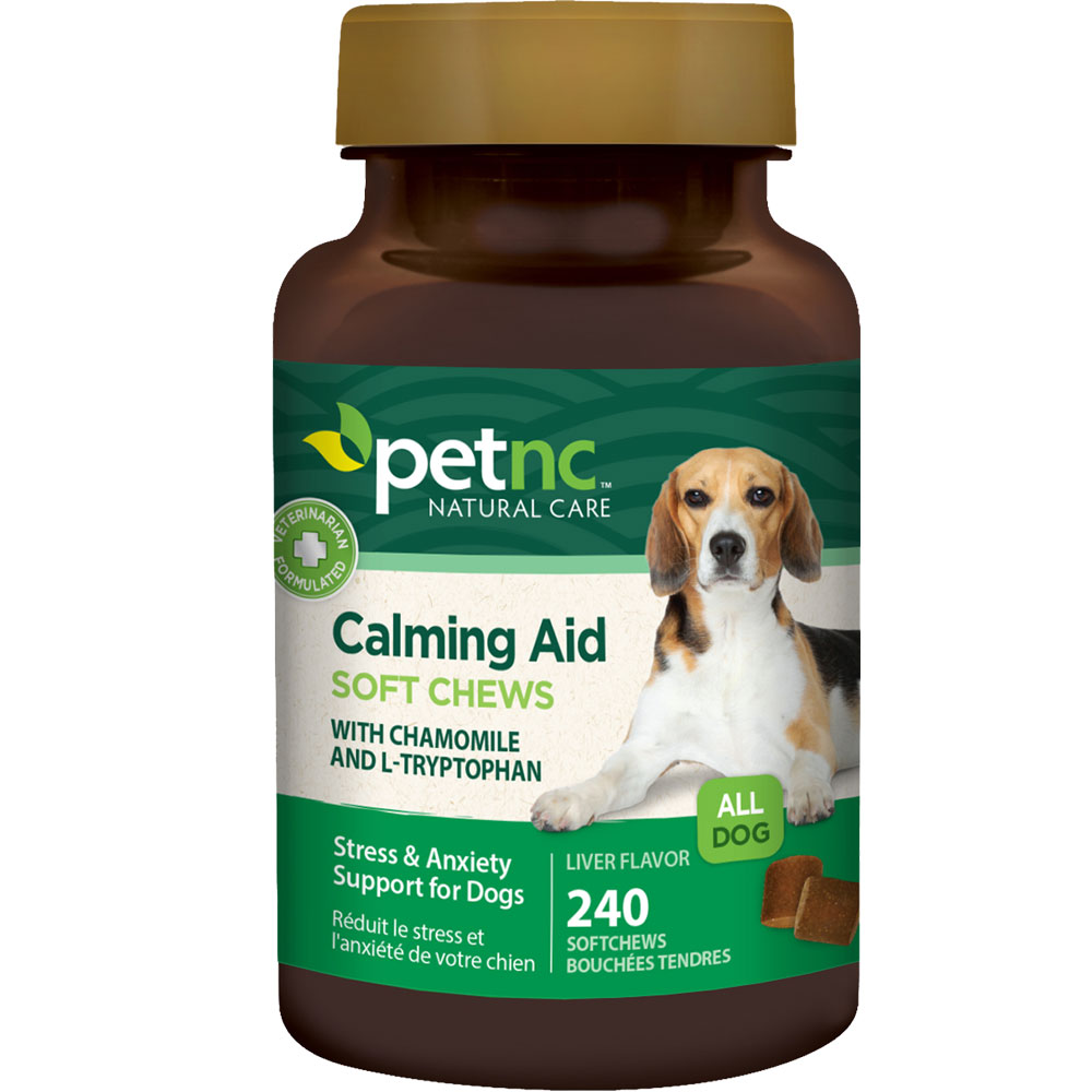 PetNC Natural Care Calming Aid Soft Chews (240 count)