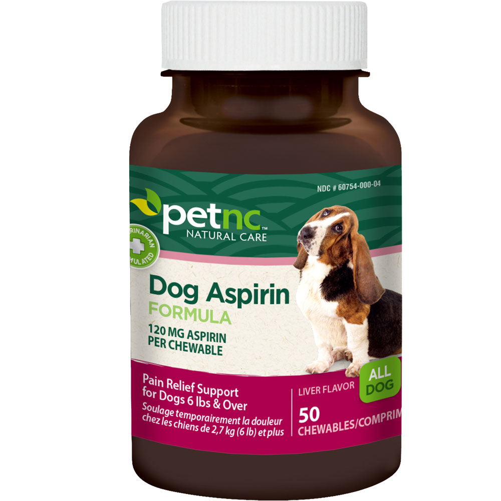 PetNC Natural Care Canine Aspirin 120mg (50 count) im test
