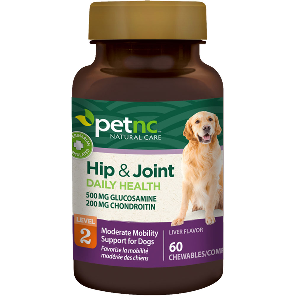 PetNC Natural Care Hip & Joint Daily Health Level 2 (60 count) im test