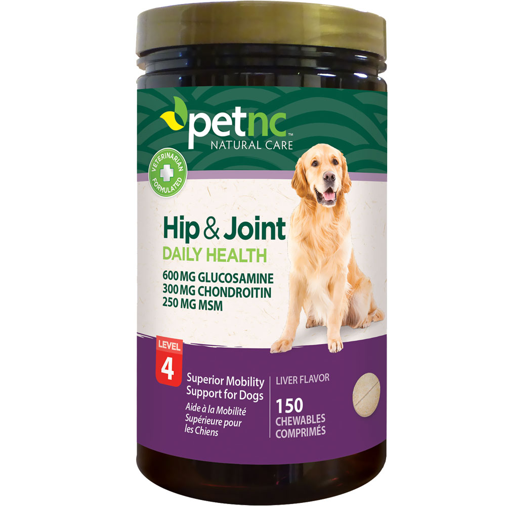 PetNC Natural Care Hip & Joint Daily Health Level 4 (150 count) im test