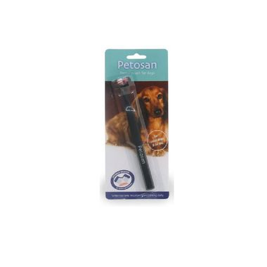 Large Petosan Vet Recommended Double-Headed Toothbrush