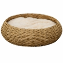PetPals Paper Rope Round Bed