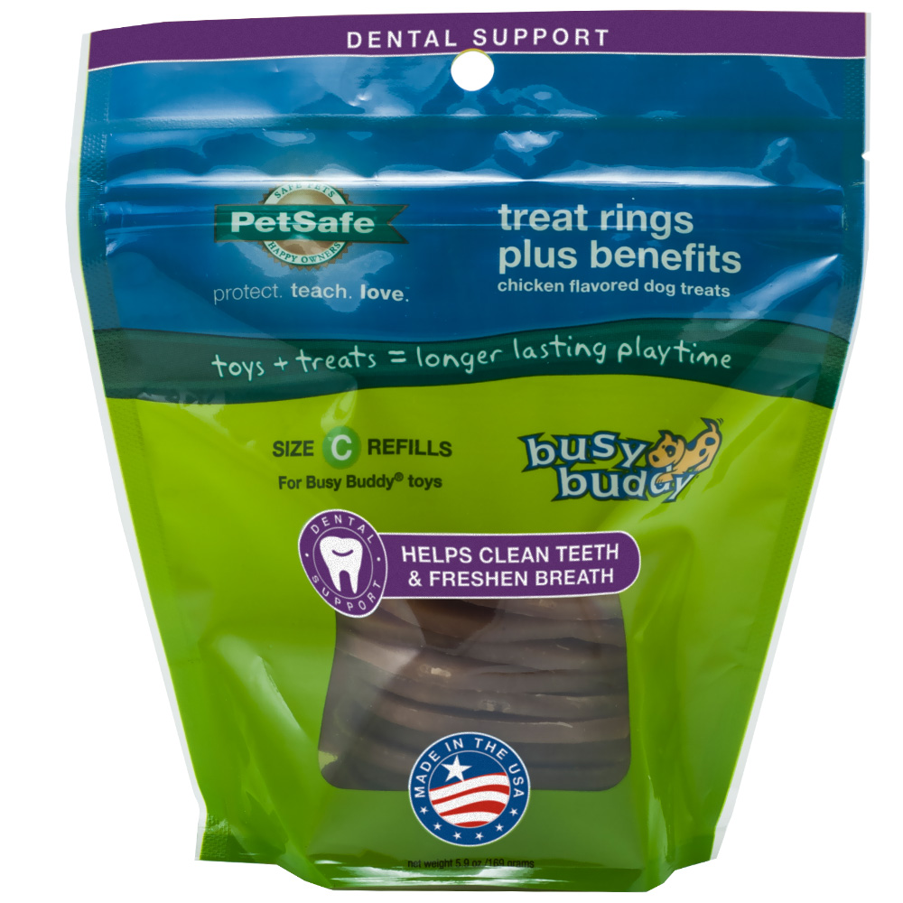 BUSY-BUDDY-TREAT-RINGS-DENTAL-SUPPORT-SIZE-C-REFILLS