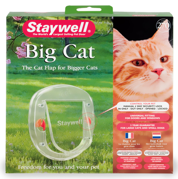 Petsafe - Cat Flap 4-Way Slim Clear Flap im test