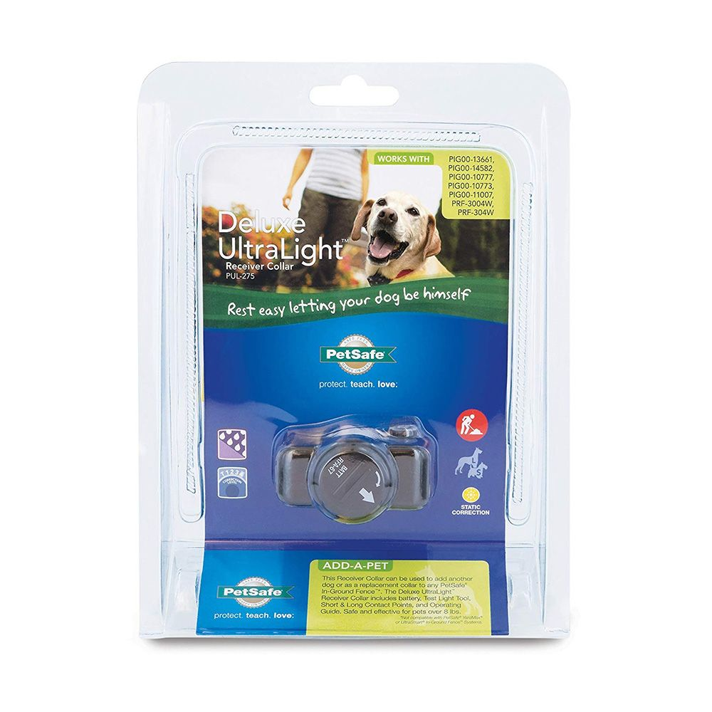 Petsafe Deluxe UltraLight Receiver Collar - For Dogs - from EntirelyPets