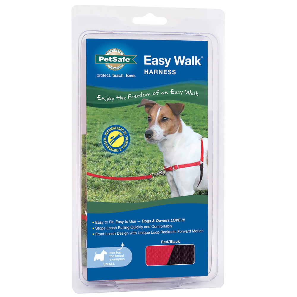 EASY-WALK-HARNESS-SMALL-RED-BLACK