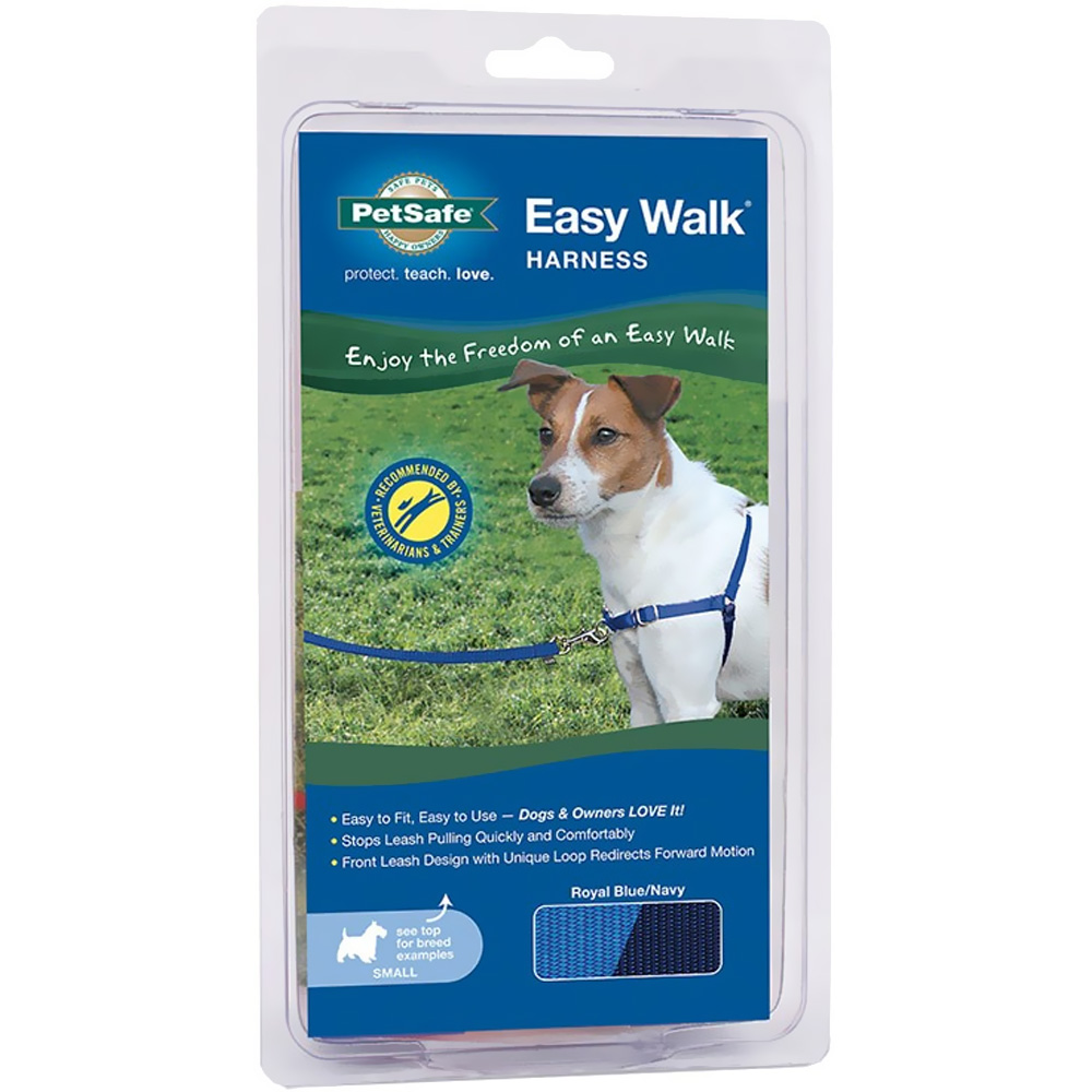 PetSafe Easy Walk Harness - Royal Blue/Navy (Small) im test