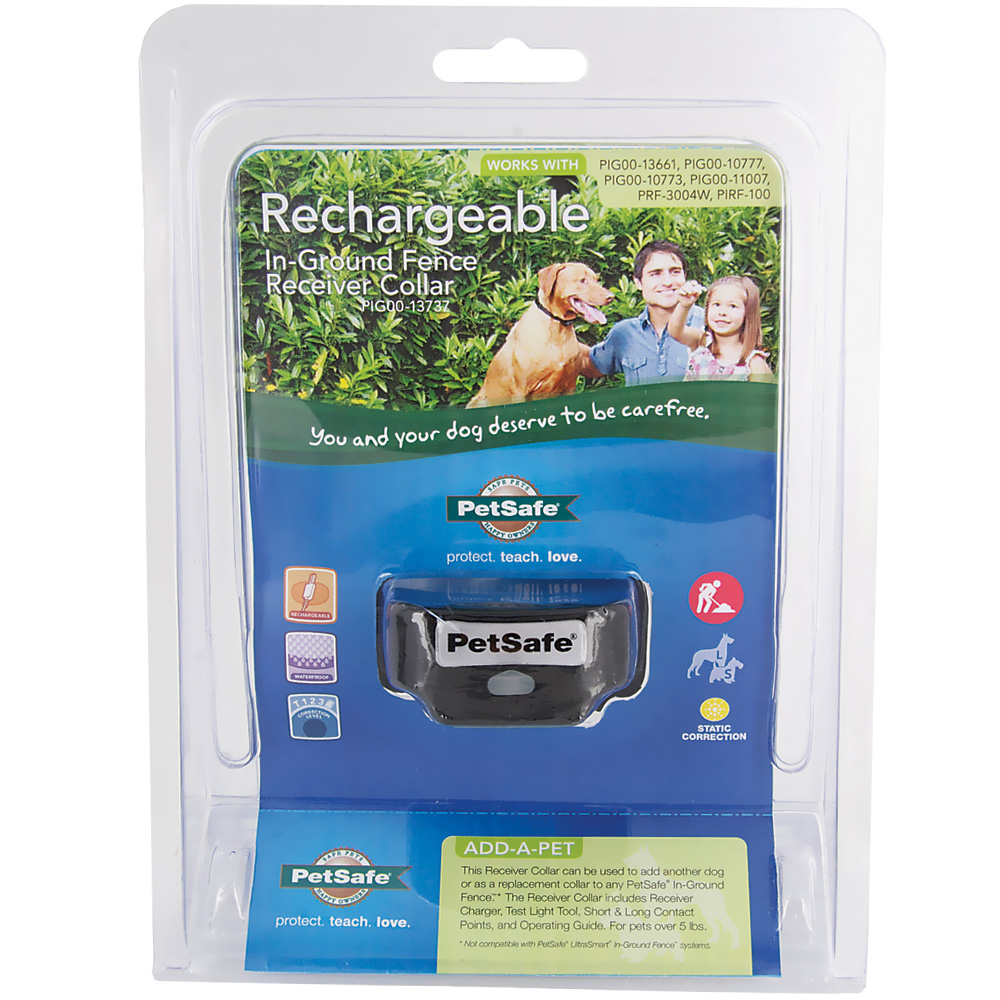 PetSafe Rechargeable In-Ground Fence Receiver Collar with Charger - For Dogs - from EntirelyPets