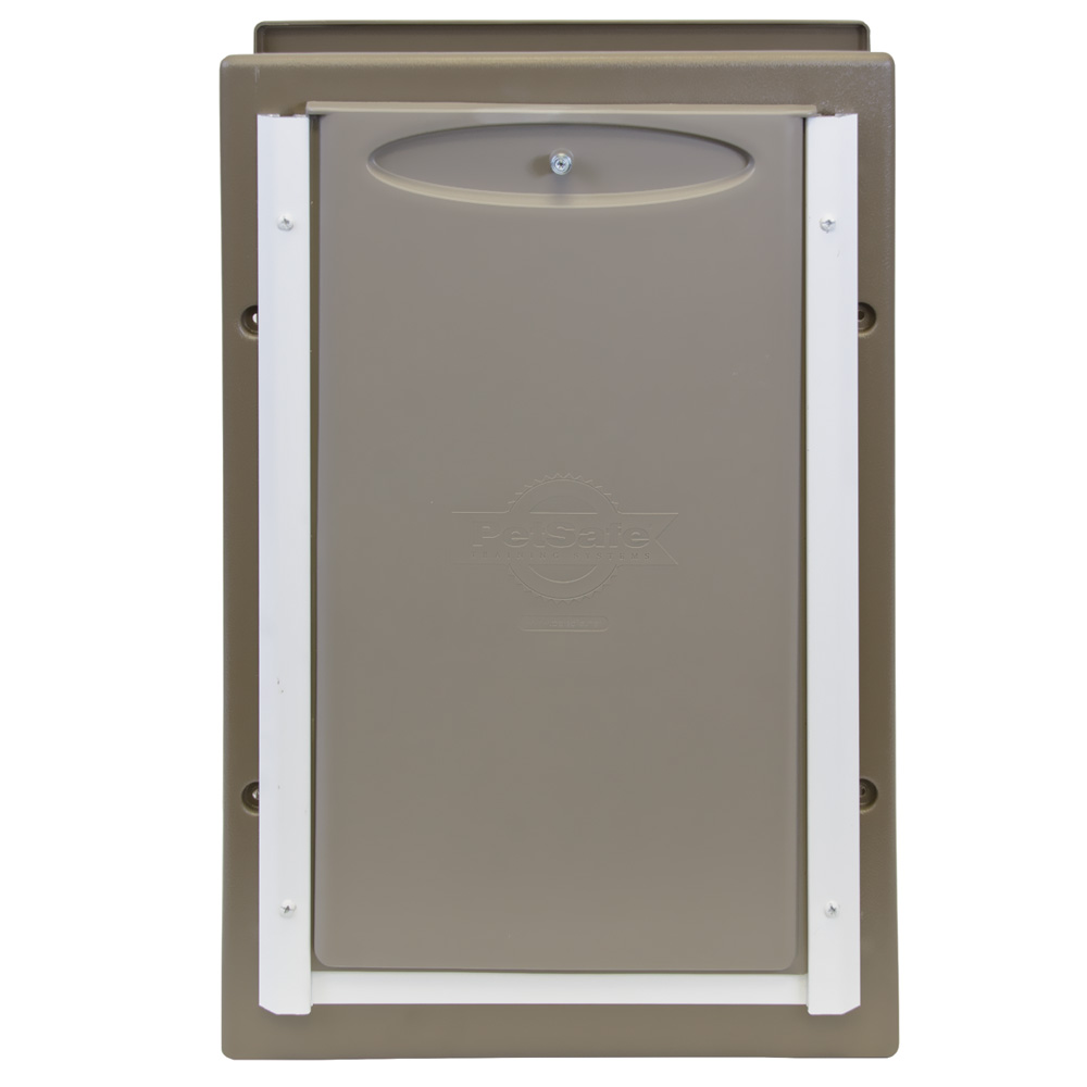 Petsafe - Wall Entry Aluminum Pet Door large im test