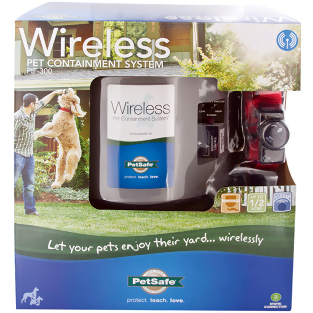 PetSafe Wireless Fence Containment System - For Dogs - from EntirelyPets