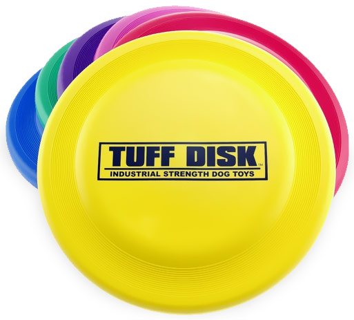 Petsport USA Tuff Disk Dog Toy (Assorted Colors) im test