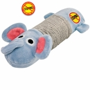Petstages Stuffing Free Big Squeak Elephant