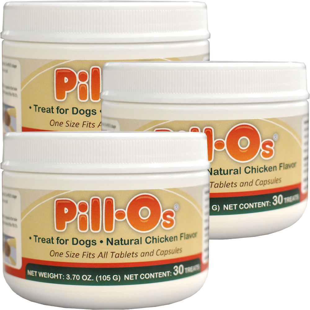 Pill-Os Tasty Pilling Treats - Duck 3-PACK (90 Count)