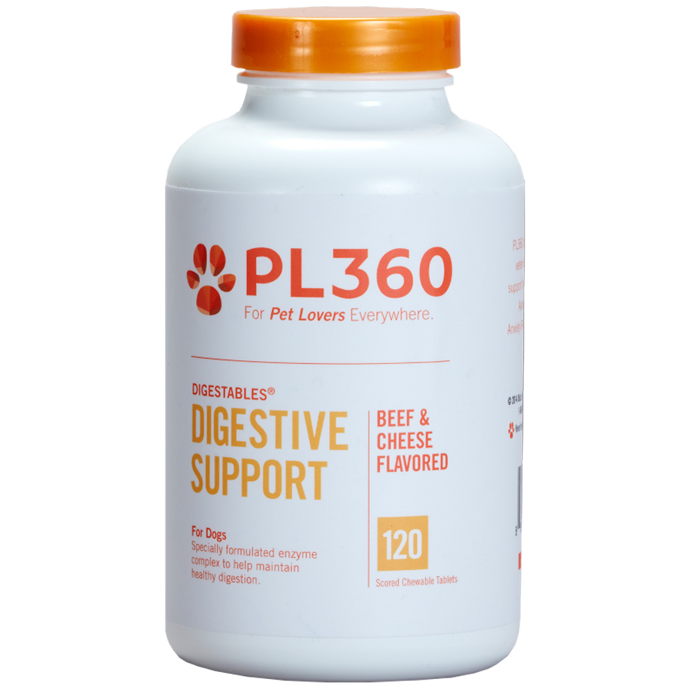 PL360 Digestive for Dogs (120 Scored Chewable Tablets) im test