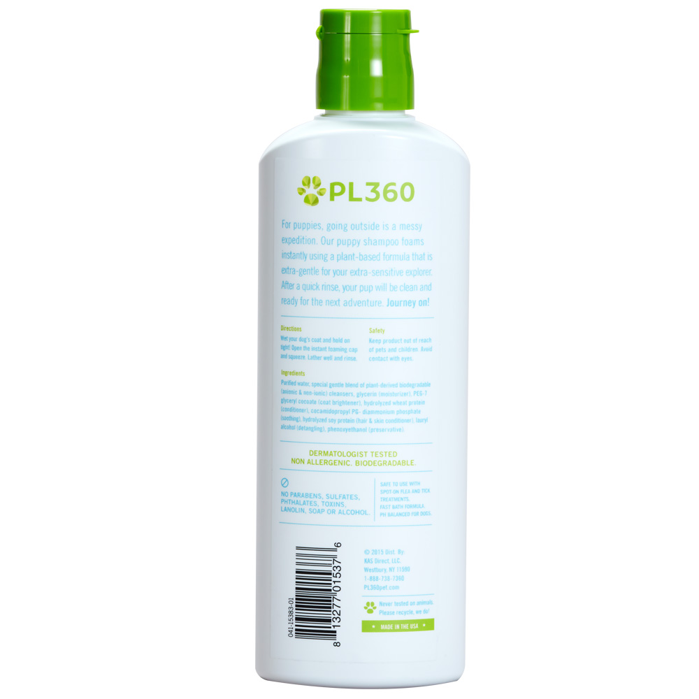 PL360-PUPPY-FOAMING-SHAMPOO-FRAGRANCE-FREE-7-OZ