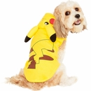 Pokemon Pikachu Hoodie Dog Costume - Medium