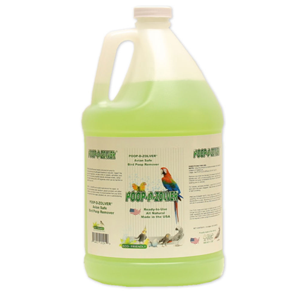 Image of Poop-D-Zolver - Lime Coconut Scented - 128 oz - from EntirelyPets